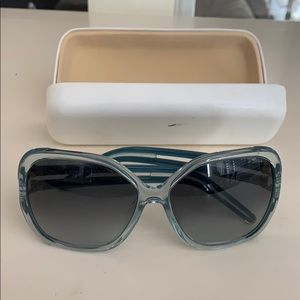 Chloe sunglasses- Translucent blue color